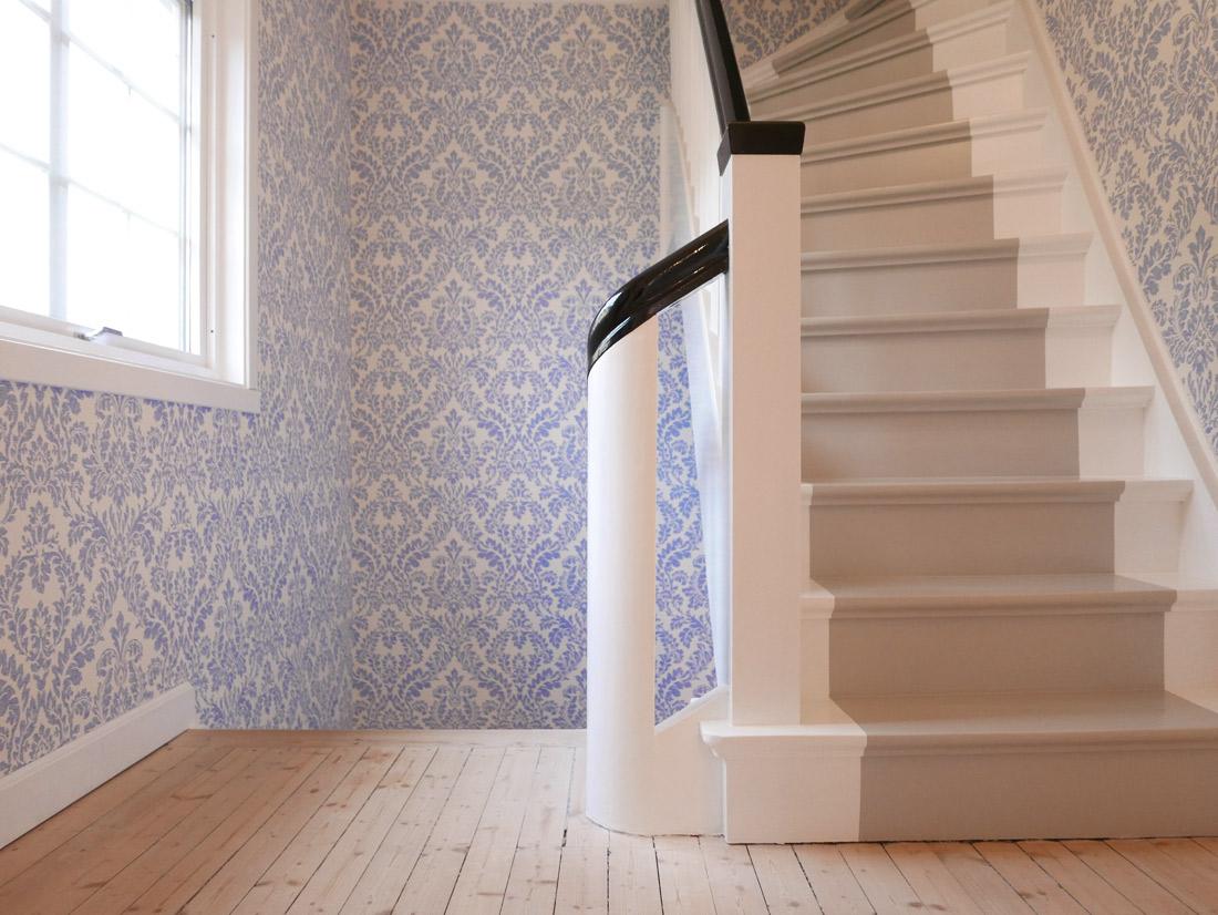 Slitesterk maling til trapp